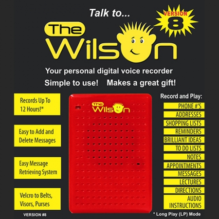 The Wilson™ 12 Hour digital Recorder