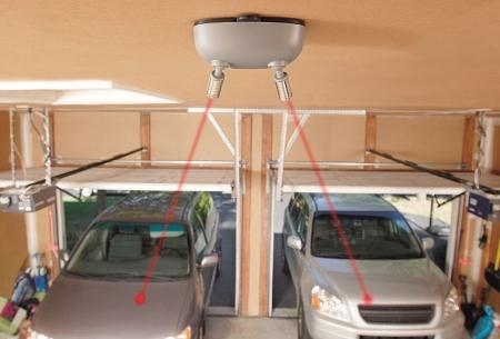 Battery Powered Dual Garage Laser Park