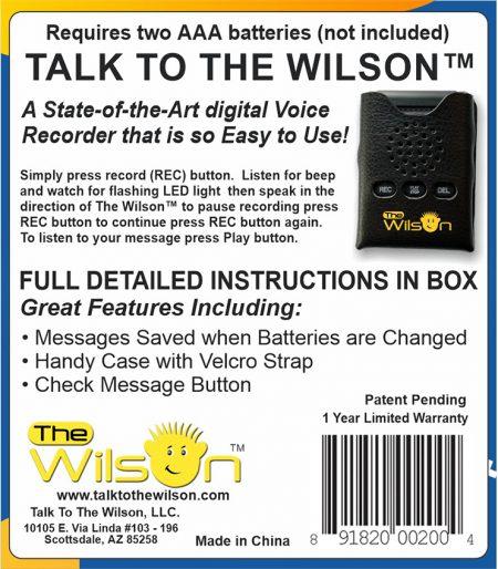 The Wilson™ New Version 10